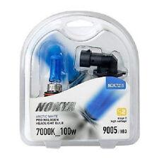 Nokya Arctic White Pro Halogen Headlight Bulbs 9005/HB3 100w 7000K Stage 2 NEW