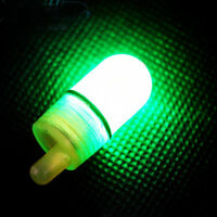 10Pcs New LED Light Night Twin Bells Tip Clip On Fishing Rod Bite Alarm Alert