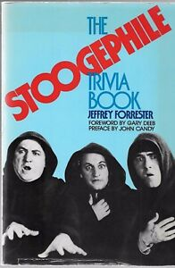 USED Softcover The Stoogephile Trivia Book, Jeffrey Forrester