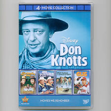 4 Disney Don Knotts movies, new DVDs Apple Dumpling Gang Tim Conway Gus Hot Lead