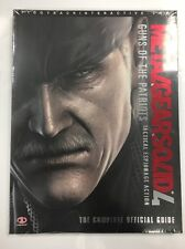 Metal Gear Solid 4 Guns of the Patriots Official Prima Strategy Guide