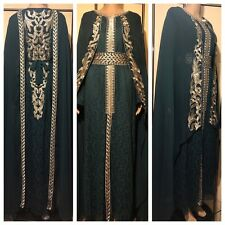 Moroccan  Styled High End Takchita  with Belt UK SIZE LARGE UK SIZE 16/18.