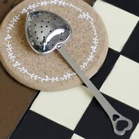 Teapot Teabags Tea Infuser Spoon Tea Infuser Spoon Heart Shape Stainless Steel