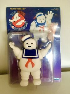 Real Ghostbusters Stay-Puft Marshmallow Man Vintage 1986 Rare MOC Unpunched MISB