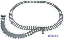 LEGO Eisenbahn CIRCOLO ferroviario con lato / COLLEGAMENTI dritto/FLEX BINARI /