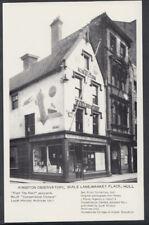 Yorkshire Postcard - Kingston Observatory, Scale Lane / Market Place, Hull  T169