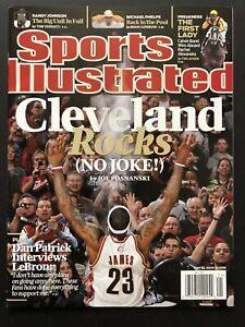 2009 Sports Illustrated LeBron James Cavaliers Cleveland Rocks NO LABEL MINT
