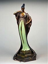 An Evening in 1922 (Bronze), Limited Edition, Erte - MINT CONDITION with COA