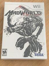 Mad World Nintendo Wii Brand New Sealed Ultra Violent Wata VGA
