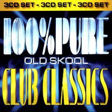 100% PURE OLDSKOOL CLUB CLASSICS - 3 CDS BANGING HOUSE 90S DANCE RAVE CDJ CD DJ