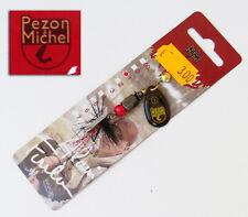 Cuiller Pezon et Michel Rapide T1 AF noire Pompom 55 mm 6 grs