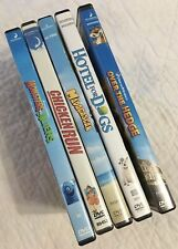 Lot of 5 Dreamworks Children's Dvds Madagascar Chicken Run Over the Hedge