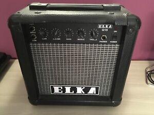 ELKA G15 Amplificatore per Chitarra Elettrica VINTAGE