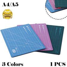 A4/A5 Cutting Mat Self Healing Slip-Resistant Arts & Crafts Grid Design 3 Colors