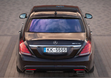 W 222 REAR WINDOW SPOILER ROOF EXTENSION FOR AMG BRABUS WALD Hamann Cover Trim