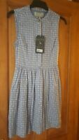 Brand New Jack Wills Dress Size 8. Beautiful blue print.