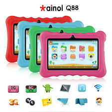 """Ainol Q88 7"""" Kids Tablet PC, Android 4.4 External RAM 16GB ROM 1GB Tablet with D"""