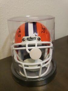 Autographed NCAA Clemson University Tigers Mini Football Helmet by Schutt