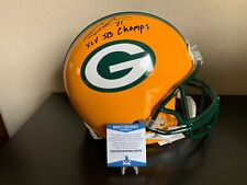Green Bay Packers Charles Woodson Signed Authentic Proline Helmet w/Beckett  COA