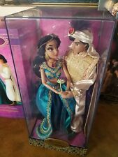 Disney Store Fairytale Designer Jasmine and Aladdin Limited Edition doll
