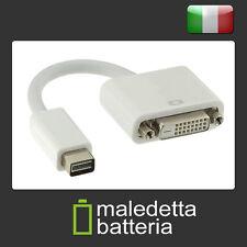 Cavo-Adattatore mini DVI maschio > DVI-D 24+1 femmina Dual Link (ES8)