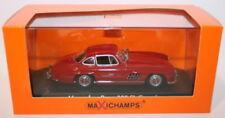 Coches, camiones y furgonetas de automodelismo y aeromodelismo de plástico de color principal rojo Mercedes