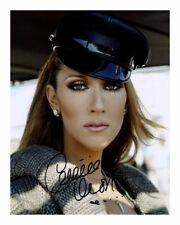 CELINE DION SIGNED AUTOGRAPHED A4 PP PHOTO POSTER 1