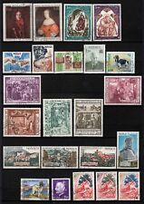 Monaco - Lot de timbres 1970  oblitérés - Used