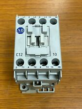 👀 NEW ALLEN BRADLEY CONTACTOR 24 VDC COIL 600 VAC 3 PH 10 HP 100-C12*10 SER A