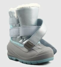 "Cat And Jack- ""Lev"" Toddler Baby Girls Winter Boots Thermolite - Blue Sz 10"