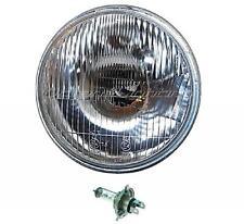 "7"" 6-Volt Stock Lens Car & Motorcycle H4 Headlight 35/35W 6V Light Bulb Headlamp"