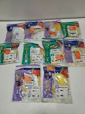 Qty-10  Assorted BrassCraft Gas Connectors SAFETY + PLUS 2   NEW