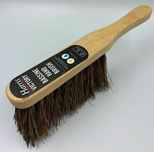 Harris Wooden Stiff Hard Bristle Hand Brush Sweeping Scrubbing Banister Brush