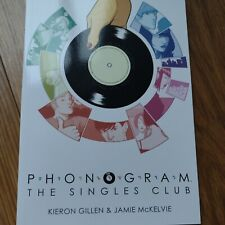 Signed PHONOGRAM 2: THE SINGLES CLUB IMAGE Limited Edition Gillen & McKenzie