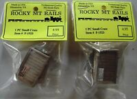 Rocky Mt Rails Small Crate New 1523 Set of 2