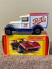 """Matchbox"" Superfast Model A Ford Matchbox Toys Ltd 1979 Made in Macau in/box"