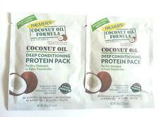 Palmers fórmula aceite DE COCO proteína de acondicionamiento profundo Pack (60g) paquete de 2!!!