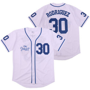 Benny The Jet Rodriguez #30 The Sandlot Movie Baseball Jersey Christmas Summer