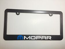 Mopar Plastic License Plate Frame Vinyl Decal Dodge