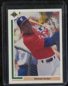1990 Upper Deck Baseball MICHAEL JORDAN Short Print SP Chicago White Sox JFB1