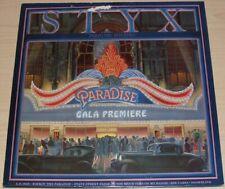 STYX PARADISE THEATRE GATEFOLD ALBUM 1981 A&M RECORDS SP-3719 LASER ETCHED