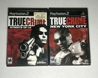 True Crime  (Playstation 2) PS2 Tested