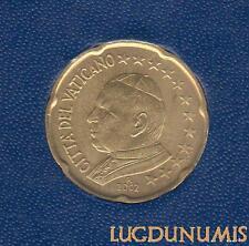 Vatican 2002 – 20 Centimes d'Euro – 65 000 exemplaires Provenant du coffret BU R