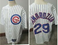 Chicago Cubs Jeff Samardzija Authentic Majestic Jersey, Size Large With Tags