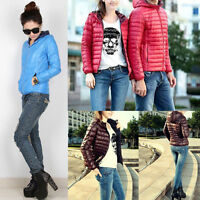 HOT Women's Short Coat Hooded Coat Parka Jacket Winter Warm Outwear GIFT