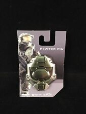 NEW Halo Master Chief Helmet Pewter Pin Badge Lapel Pin - Gaming Game PS3 XBOX