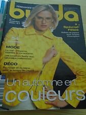 MAGAZINE COUTURE BURDA UN AUTOMNE EN COULEURS NOVEMBRE   2005 N° 71