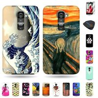 For LG G2 VS980 Phone - Multicolor Various Design Cover Cases