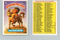 1986 SERIES 3 TOPPS GPK GARBAGE PAIL KIDS 86B GALLOPING GLEN