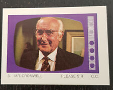Monty Gum trading card 1970 TV Series: Please Sir #3 Mr.Cromwell